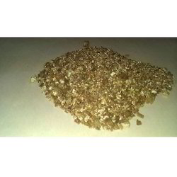 Exfoliated Gold Vermiculite Flakes