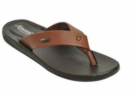 df8a0cf0013b Ajanta Brown Tan Men Classy Sandal Slipper
