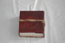 Vintage Embossed Handmade Leather Journal