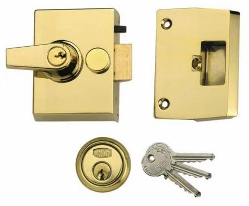Rim Locks - Double Security - 1097 Narrow Stile Cylinder Night Latch