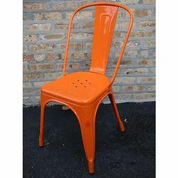 H.V Metal Industrial Tolix Chair (Metal), For Cafe