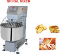 Stainless Steel Spiral Mixer, For Bakery