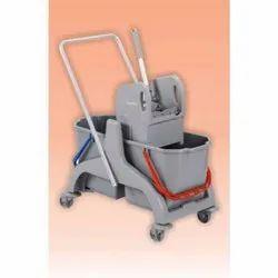 36 L Mop Wringer Trolley