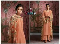 Vaani Sales Pure Cotton Suit with Printed Dupatta
