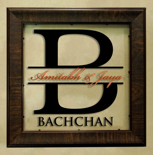 Square Allegro Name Plate, Acrylic Name Plates - Engrave Dot In ...