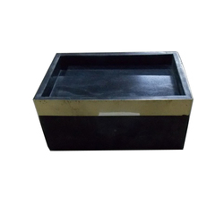 Marble Boxes with Brass Tray
