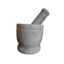 Marble Mortar Pestle