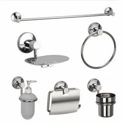 SPENZA Stainless Steel SS Bathroom Accessories, Material Grade: Ss 202, 304, Shape: Round