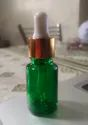 15 ml Green Essential Oil Glass Bottle