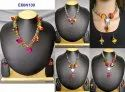Indian Fashion Wear Pom Pom Necklace for Kids