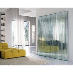 Decorative Wall Glass, For Home,Office etc, Thickness: 5-20 Mm