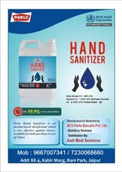 Parle Hand Sanitizer Bottle, 5 Liters