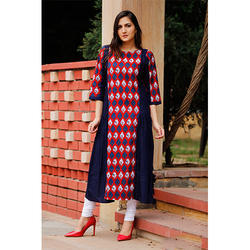 Designer Cotton Ladies Kurti