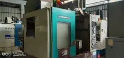 Make - Takisawa Vertical Machine Center Working 600x400x450 With 4th Axis