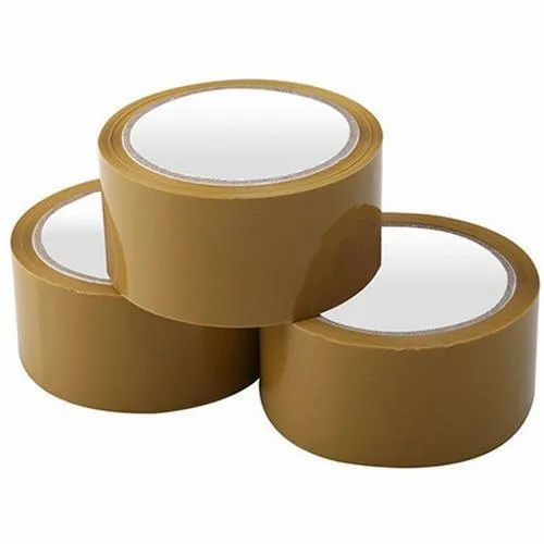 25 M Brown BOPP Packaging Tape
