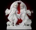 Danching Radha Krishna Statue