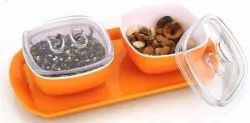 Mercury Special Serving Air Tight Bowl for Guest Serving and Gifting Pack-2 set mercury Bowl
