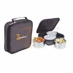 Zanelux Black 4 Lunch Box
