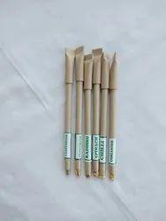 YBI Blue Plantable Paper Pen, Packaging Type: Loose