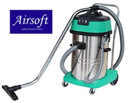 Airsoft Wet and Dry Vacuum Cleaner 60 ltrs