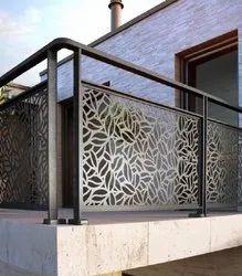 Stainless Steel Black Deginer balcony grill