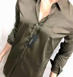 Plain Mens Designer Partywear Shirts, Size: S-xxl