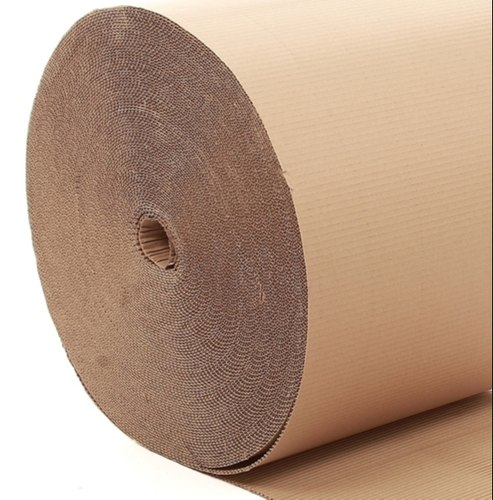 Brown Corrugated Cardboard Roll