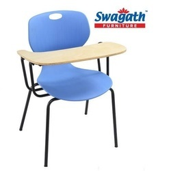 Awe Inspiring Writing Pad Chairs Tablet Arm Chair Online With Price Download Free Architecture Designs Itiscsunscenecom