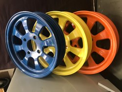 Electric Rickshaw Alloy Wheels