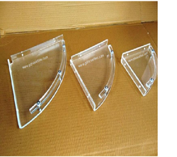 Acrylic Corner Shelf Set