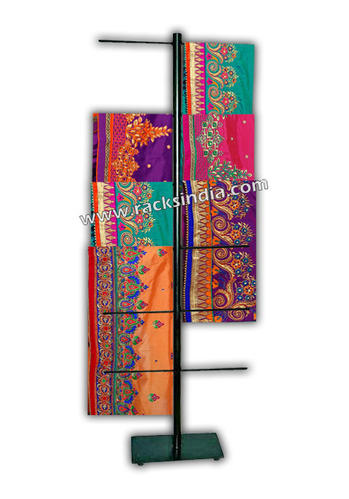 Modern Exhibition Stand Price : Garment racks display stand for sarees manufacturer from mumbai