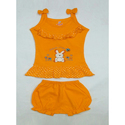 Baby Girl Sleeveless Top and Shorts