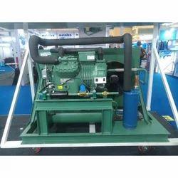 Mild Steel 3 Phase Blast Freezer Condensing Units, 310 V, Warranty: 1 Year