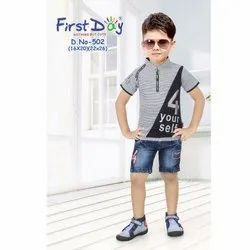 First Day Kids Boys Casual Wear Printed Suit, Rs 378 /piece Daga Impex    ID: 20685915355