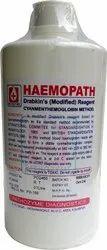 Hemoglobin Reagent Drabkins Solution 1000ml, For Laboratory, Packaging Type: Bottle