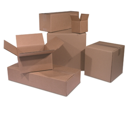 Corrugated Paperboard Plain Rectangle Shipping Storage Cartons