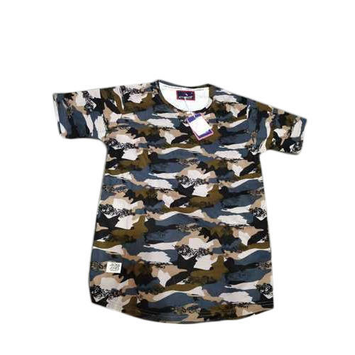 af6459f8 Cotton Printed Half Sleeves T Shirt, Size: S And XL, Rs 250 /piece ...