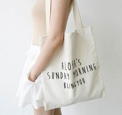 Casual Canvas Shopping Bags