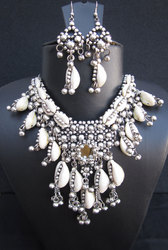 Necklace Costume Jewelry Bollywood Womens Party Set