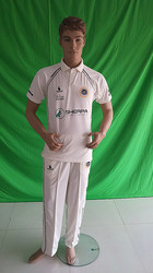 Custom Cricket White Clothing
