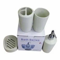 V.K. Imports Plastic Bath Series Bathroom Set, For Home, Quantity Per Pack: 1