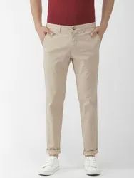 Casual Wear Mens Cotton Lycra Pant, Size: 28 to 36