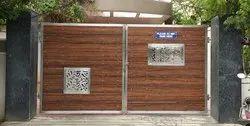 Stainless Steel Swing Gate