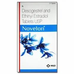 novelon Desogestrel And Ethinyl Estradiol Tablets USP