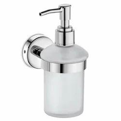 Urban Glass & SS Manual Liquid Soap Dispenser