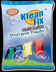 White Rose Kleanfix Detergent Powder- 500 gm, Packaging Type: Packet