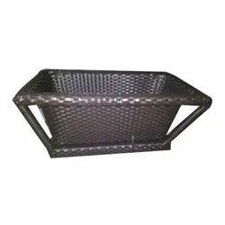 Rattan Rectangular Towel Basket