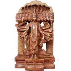 Lord Vishrupam Statue Made In Brass Lord Vishnu Dash Avtaram Sculpture