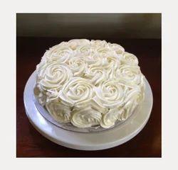 Round White Rose Cake Half Kg Chocolate Rs 1099 Piece Ferns N