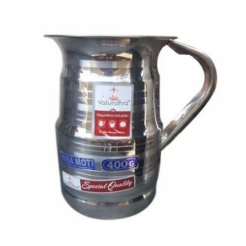 83d305c283 Vasundhra Industries 400 Gram Hira Moti Stainless Steel Jug, Rs 110 ...